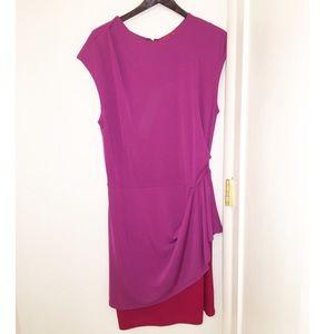 Narciso Rodriguez Suzy Dress Mulberry SZ: L